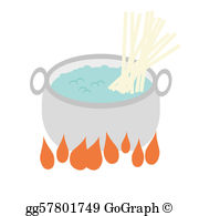 Boiled Water Clip Art.
