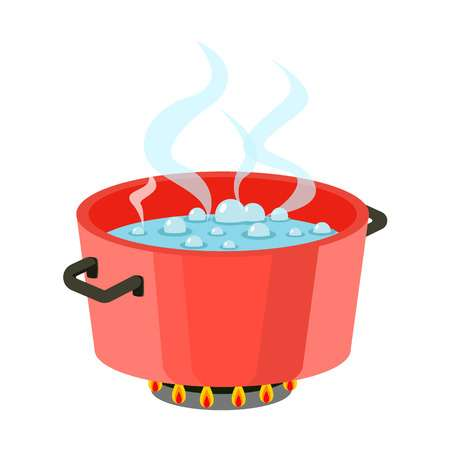 5,922 Boiling Water Stock Vector Illustration And Royalty Free.