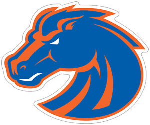 Details about Boise State University Broncos Logo NCAA Color Die Cut Vinyl  Decal / Sticker.