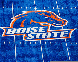 Boise State Football Clipart.