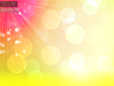 Colorful Bokeh Twitter Background and Wallpaper Clipart Picture.