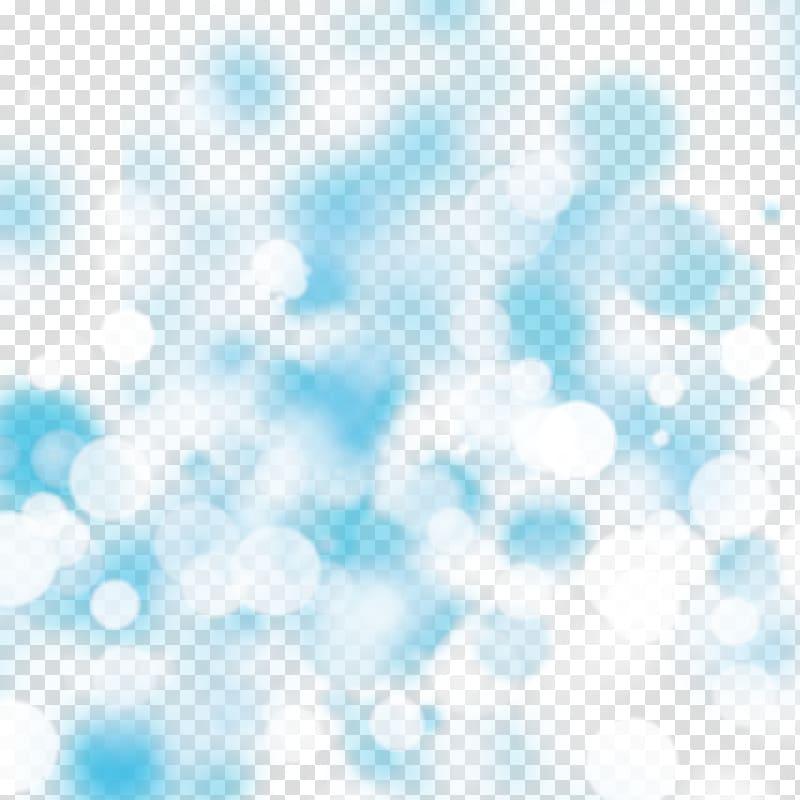 Light effect, bokeh transparent background PNG clipart.