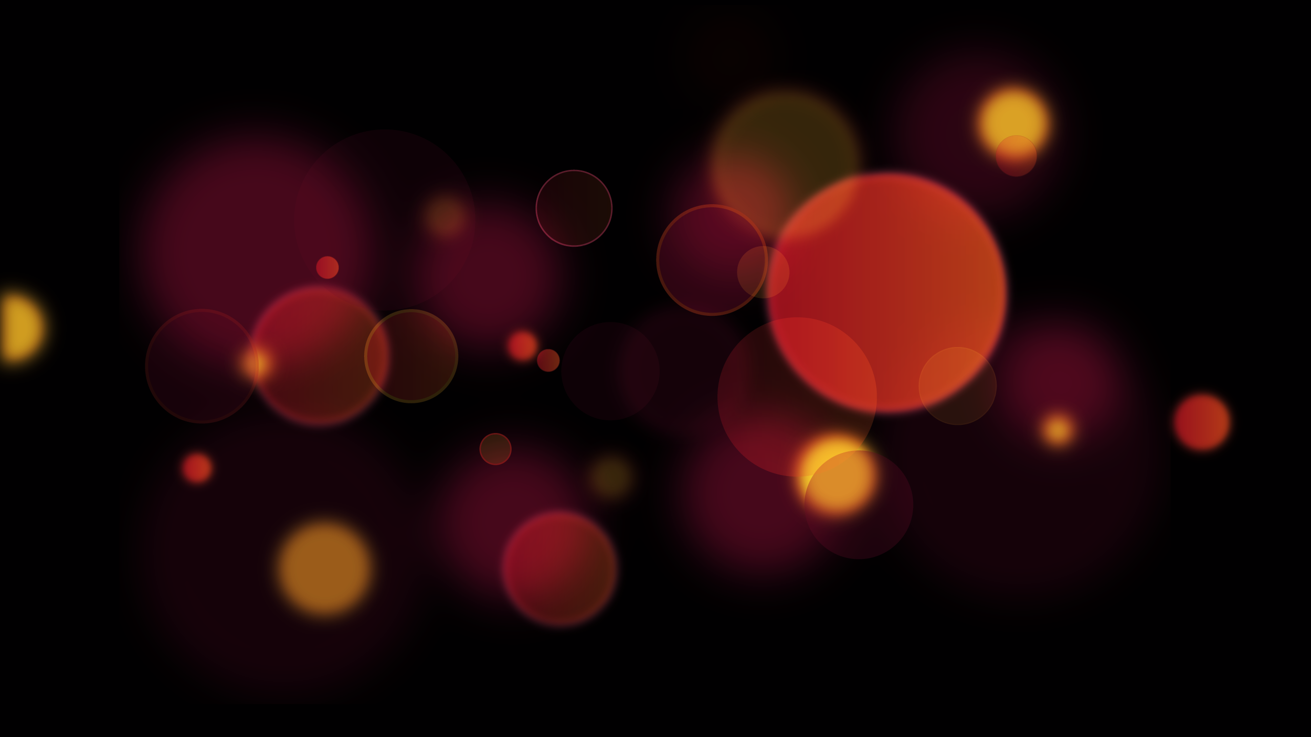 Bokeh Vector Background.
