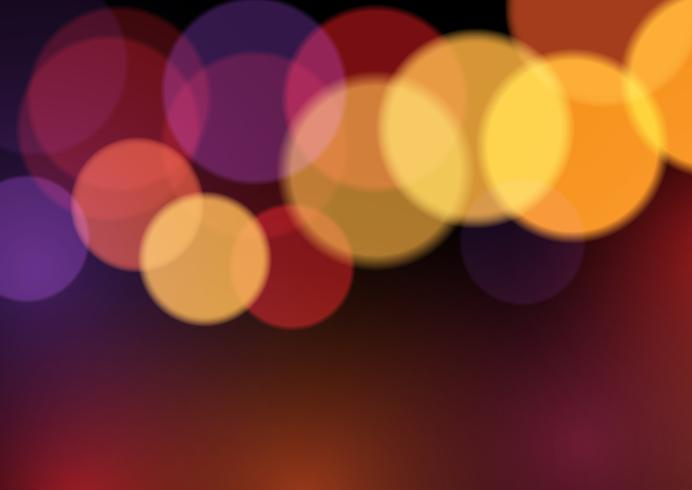 Abstract bokeh lights background.