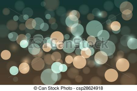 Vector Clip Art of Abstract background with blur bokeh effect.