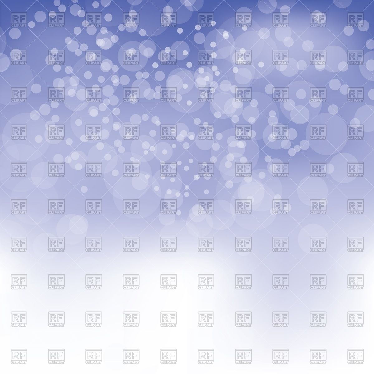 Blurred winter background with snow or bokeh effect Vector Image.