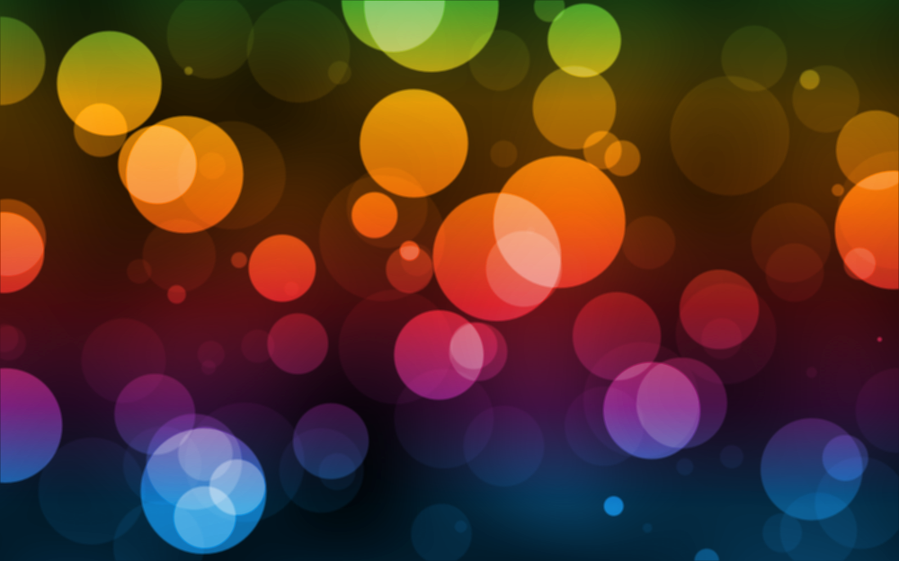 Bokeh overlay PNG Effects.