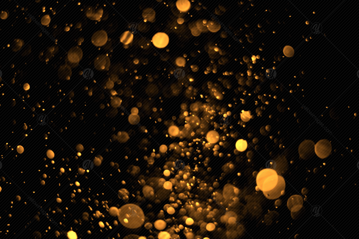 Bokeh Overlays V1 in Graphics on Yellow Images Creative Store.