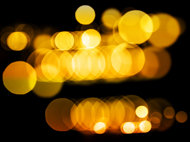 High Res Bokeh Overlay For Photoshop.