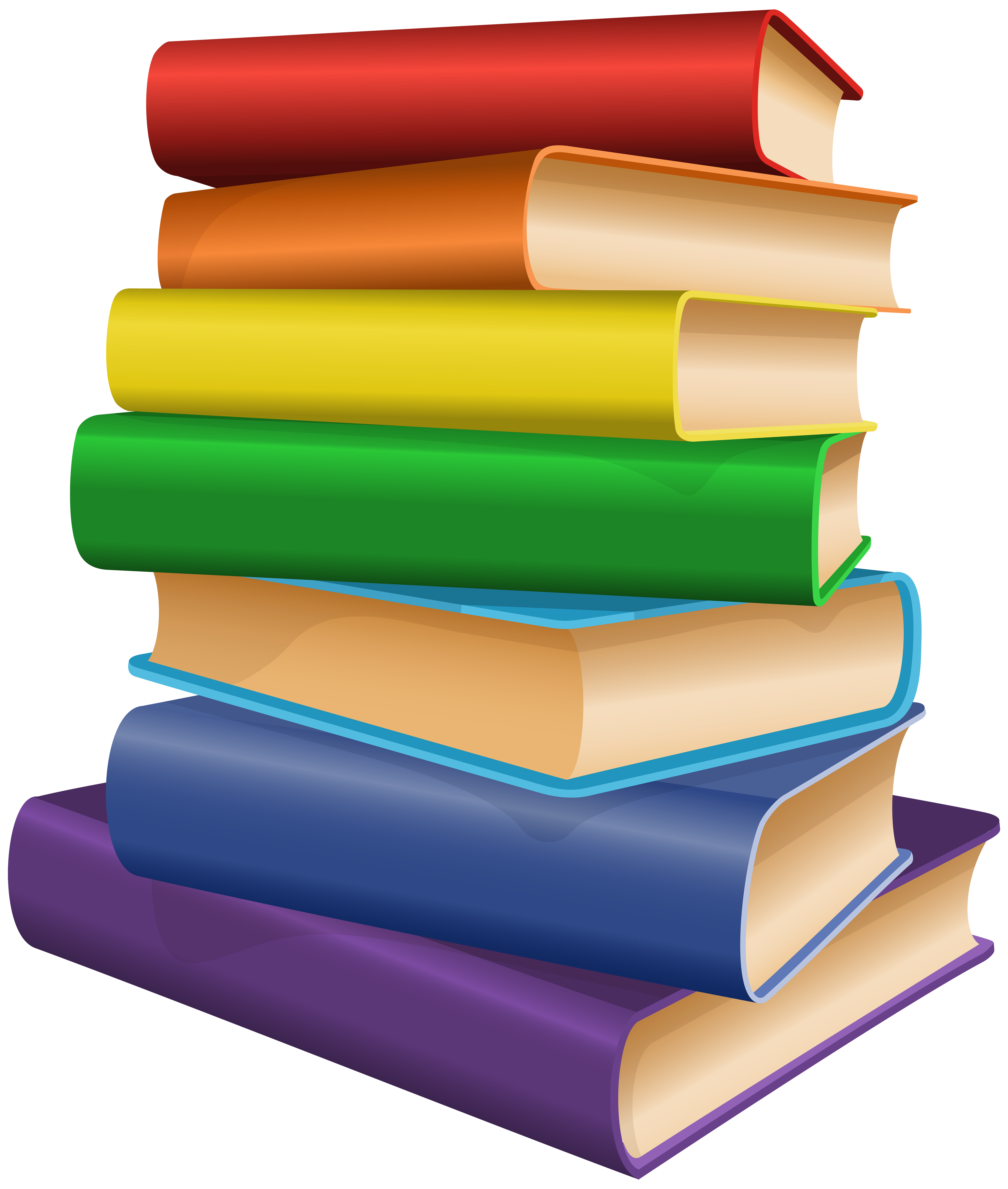 Books Clip Art PNG Image.