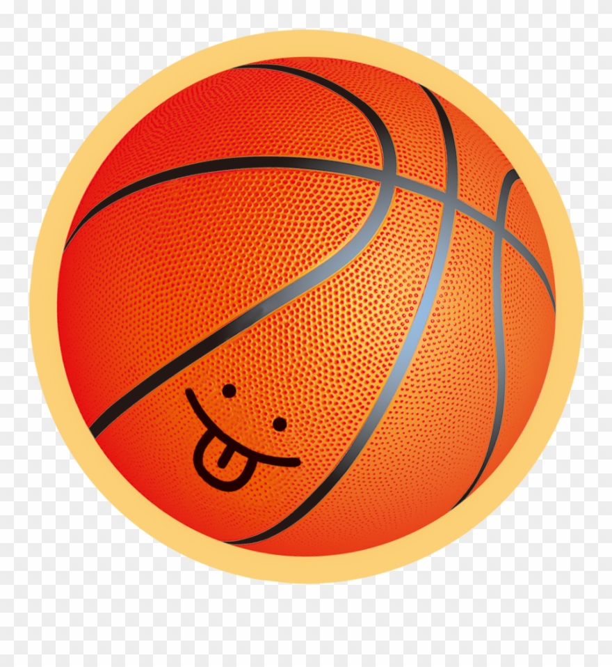 Cartoon Picture Of Basketball.