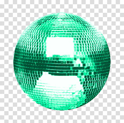 Bolas De Disco RAR , DisCBall Verde Marino transparent.
