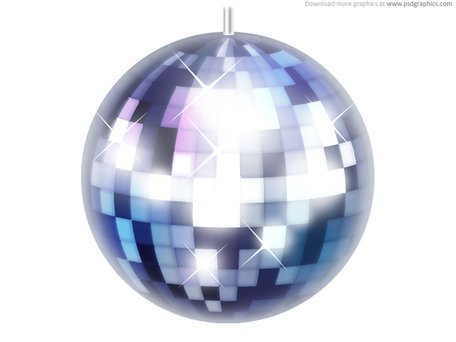Disco ball icon (PSD) Clipart Picture Free Download.