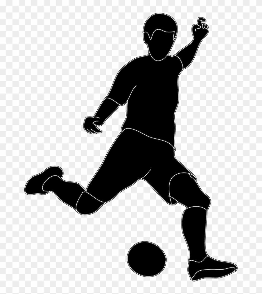 Siluet Futsal Free Download Clip Art.