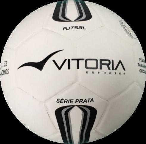 Bola Futsal Vitória Prata Mirim (Max 100).