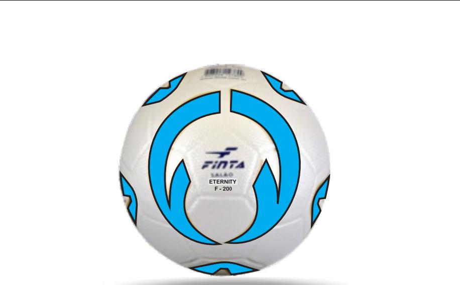 BOLA FUTSAL FINTA ETERNITY INFANTIL 32G COLADA PVC.