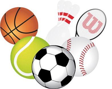 Free Vector bolas e material esportivo, arquivo vetorial.
