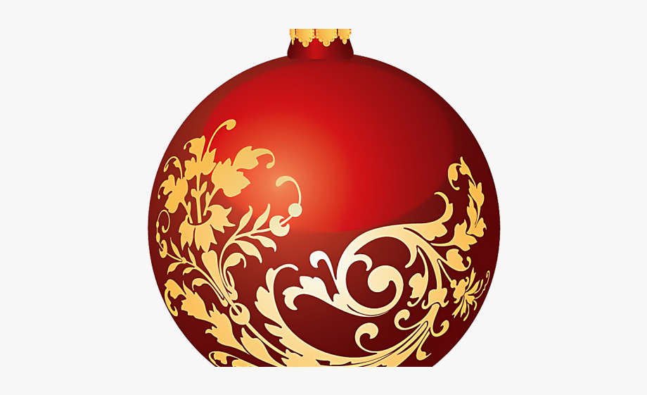 Christmas Ball Clipart High Resolution.