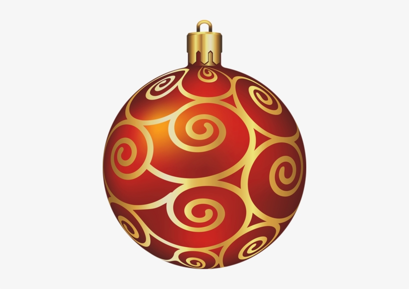 Picture Free Library Red Christmas Ornament Clipart.