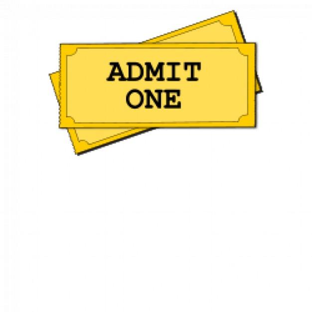 Movie Ticket Stub Template.
