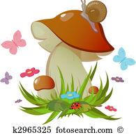 Boletus Clipart Illustrations. 801 boletus clip art vector EPS.