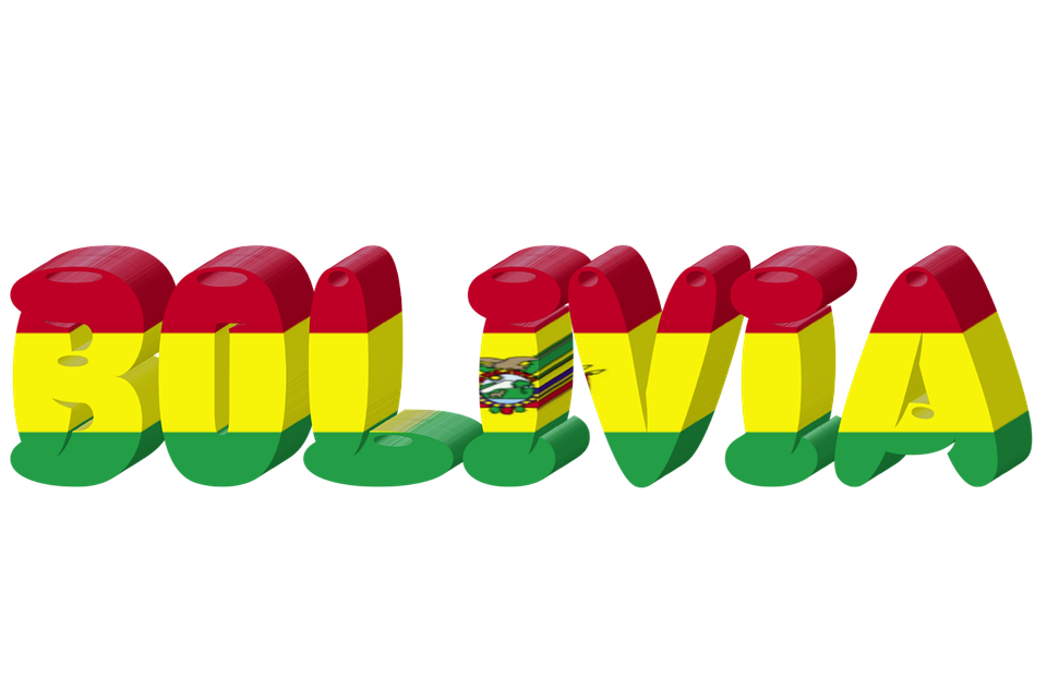 Bolivia Country Flag.