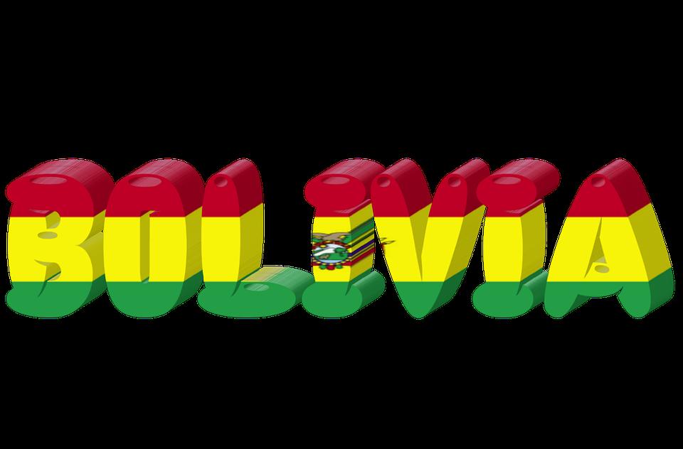 Bolivia Country Flag.