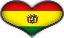 Free Animated Bolivia Flags.