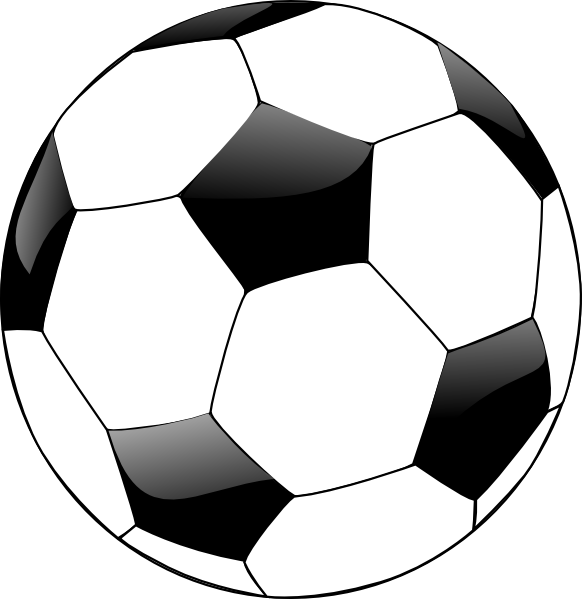 Ball Clipart Black And White.