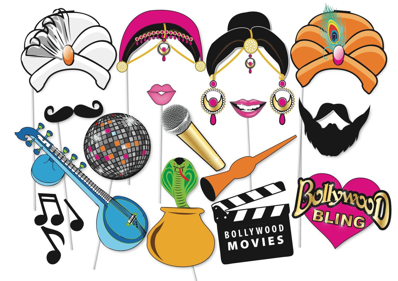 Bollywood fake clipart.