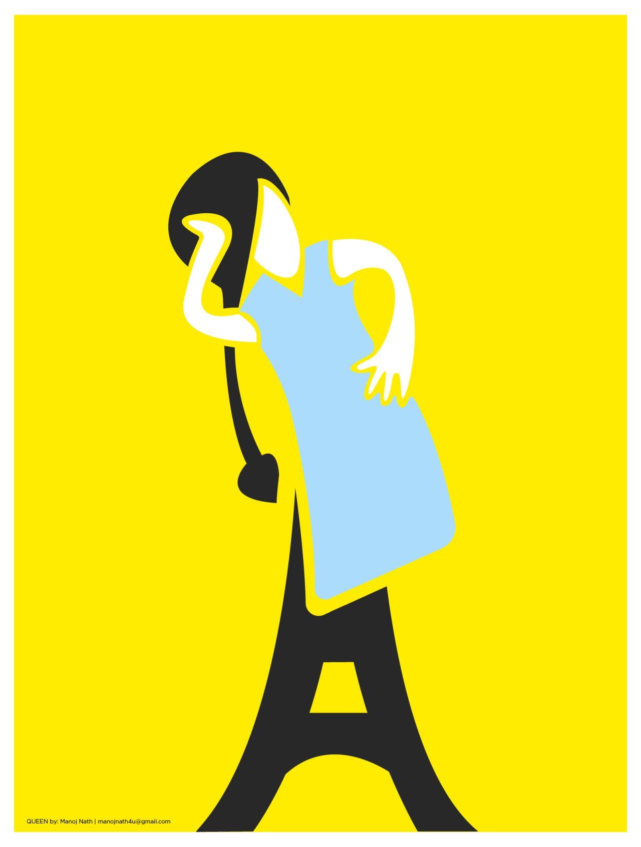 Minimal Movie Posters India: Photo.