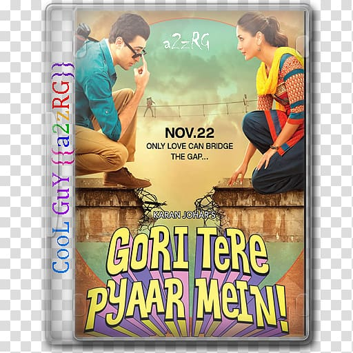 Film poster Gori Tere Pyaar Mein Film poster Bollywood.