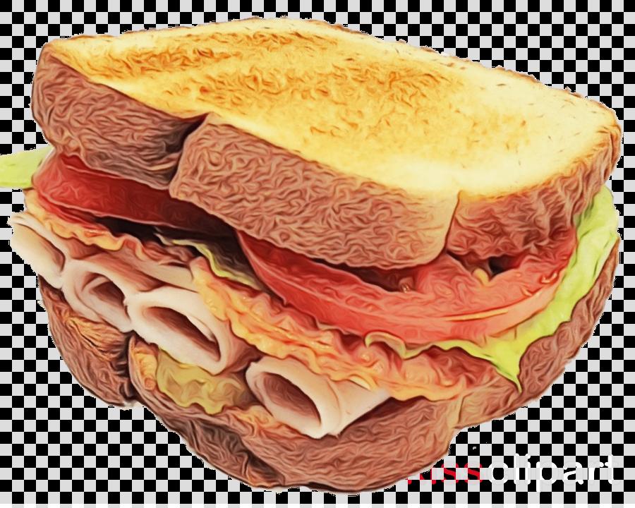 food dish cuisine bologna sandwich junk food clipart.
