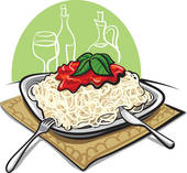 Clipart of Spaghetti bolognese k13466442.