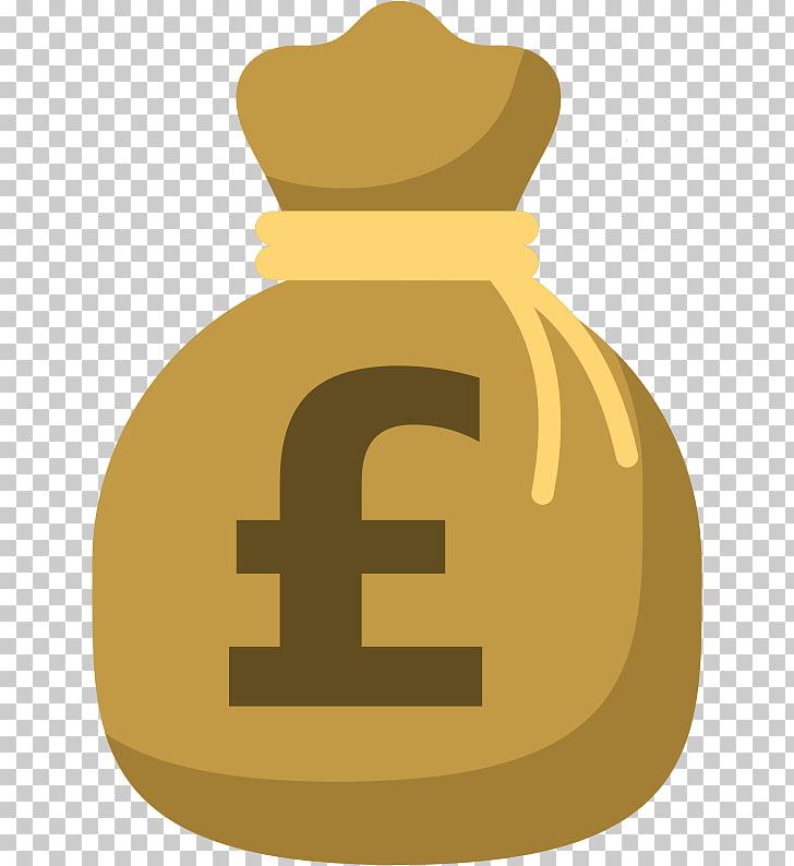 Bolsa de dinero moneda libra esterlina dólar de los estados.