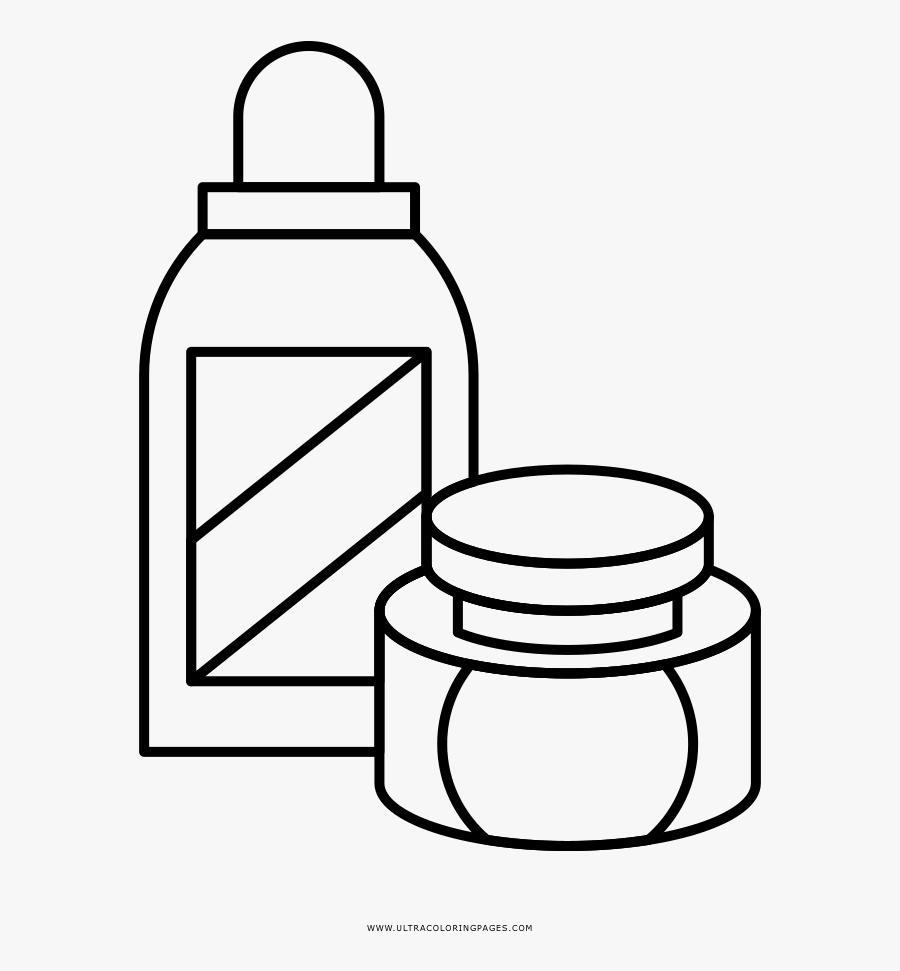 Transparent Cosmetics Clipart.