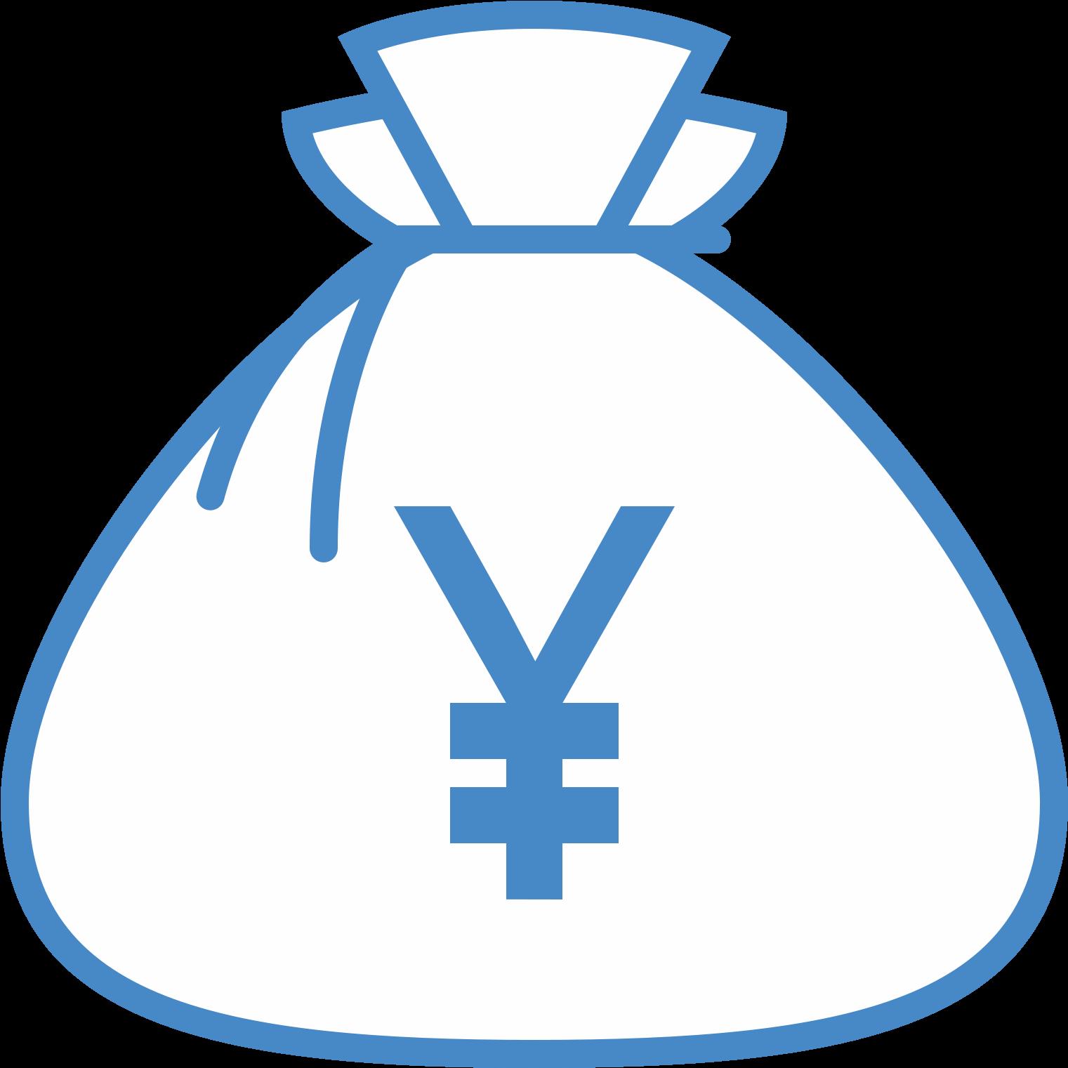 Bolsa De Dinero De Yenes Icon.