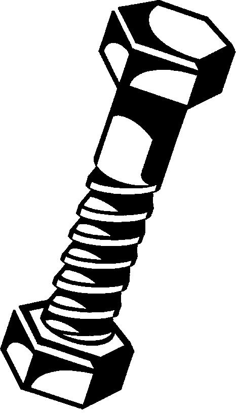 Bolt clip art.