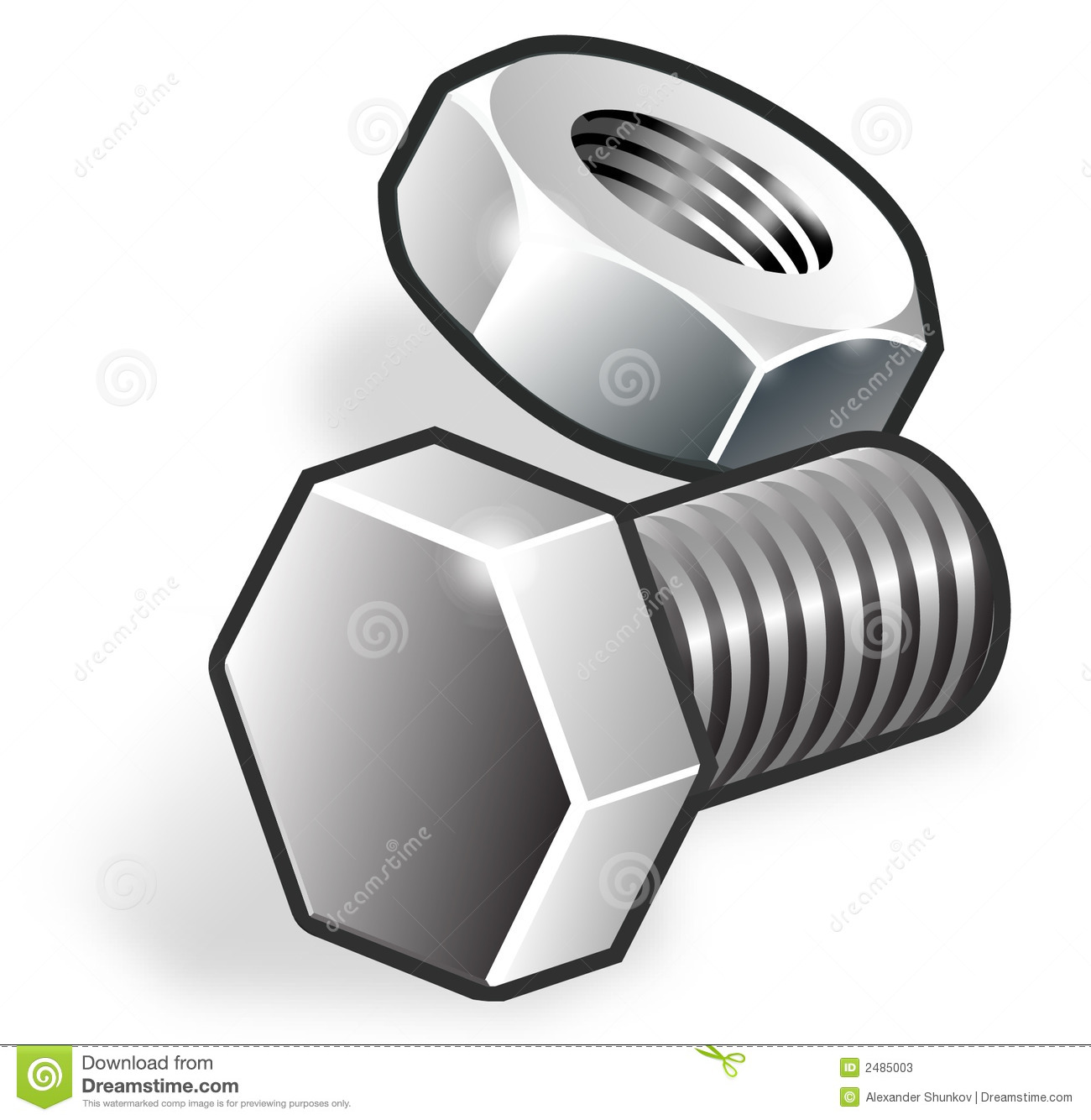 Bolts clipart - Clipground