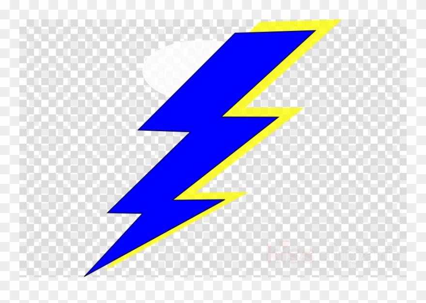 Blue Lightning Bolt Transparent Clipart Lightning Clip.