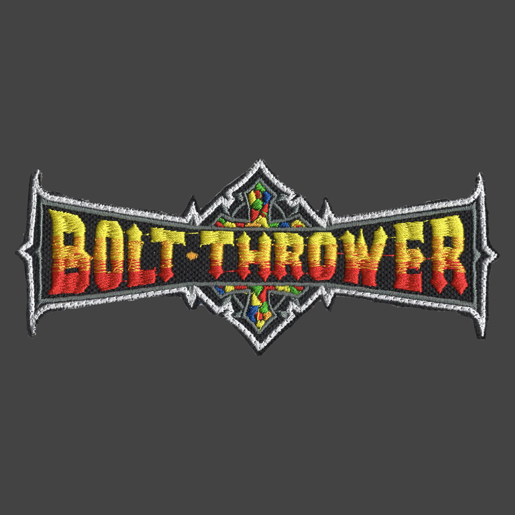 Bolt Thrower logo.