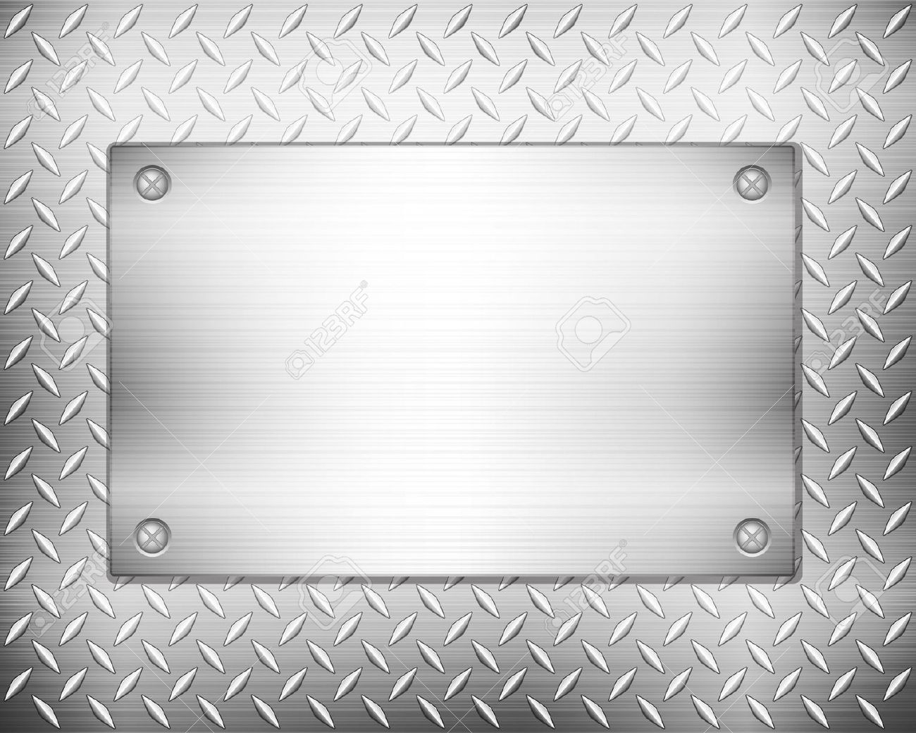Steel plate clipart.