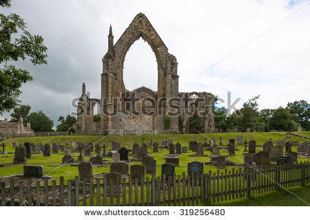 Fountains Abbey Yorkshire Stock Photos, Royalty.