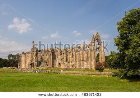 Bolton Abbey Stock Photos, Royalty.