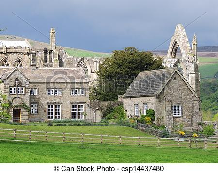 Pictures of Bolton Abbey, Yorkshire.