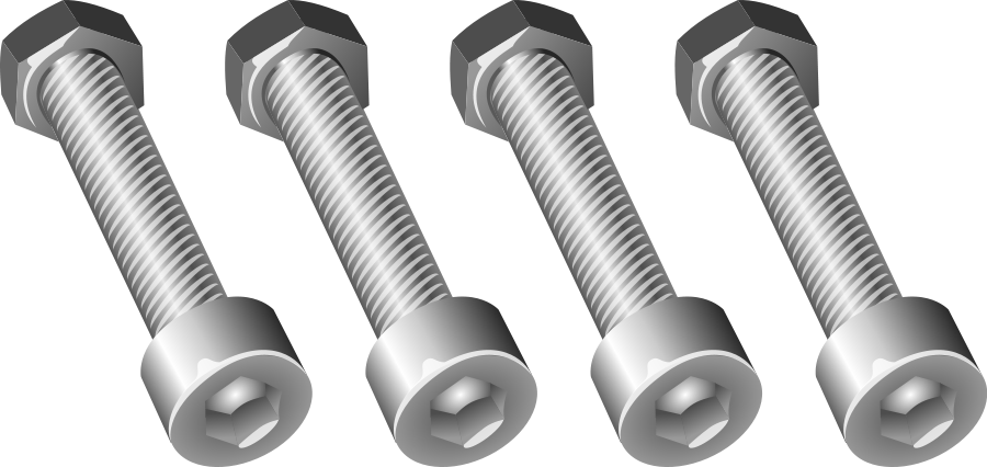 Nuts And Bolts Clipart.
