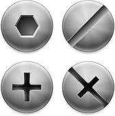 Nuts And Bolts Clip Art.