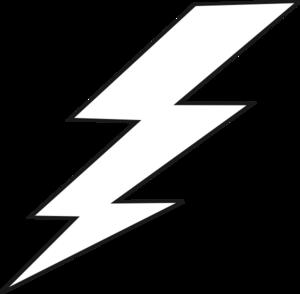 Lightning clip art free.