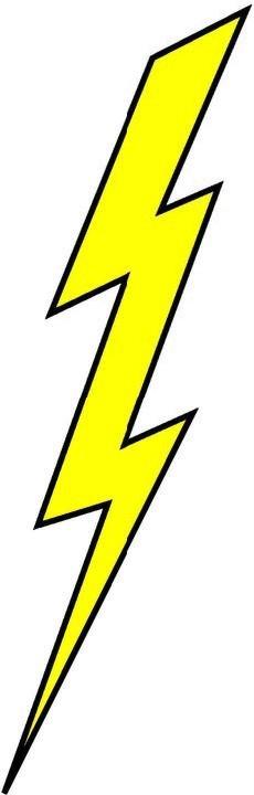 Clipart lightning bolt.