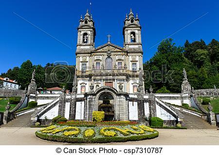 Picture of Bom Jesus de Braga, Portugal.